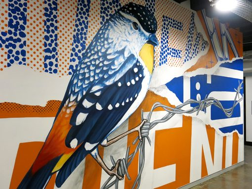 Urban Bird Mural