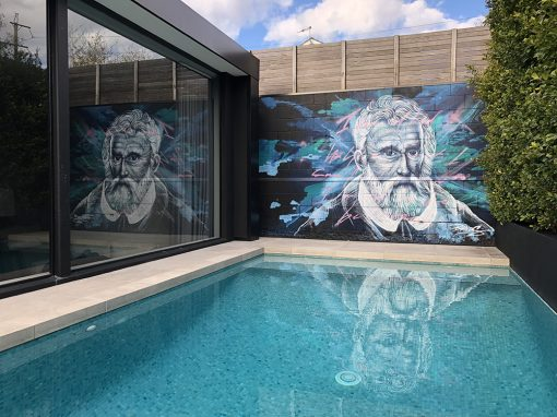 Marco Polo  Poolside Mural