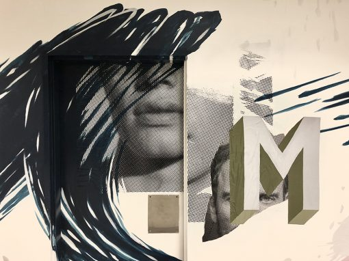Modern Mural/ Collage